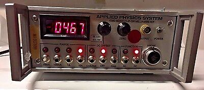 Applied Physics System / HP Agilent 428D AC/DC Clip-on Milliammeter