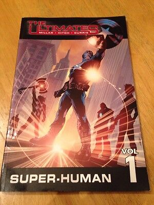 The Ultimates Super-Human Vol 1 Millar Hitch Currie