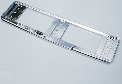 Chrome number plate surround holder frame for Jaguar XF X F XF XE S XK XKR type
