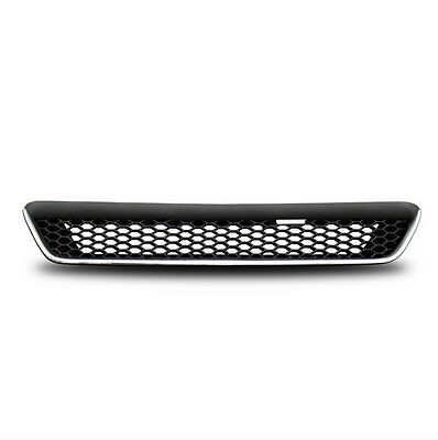 Badgeless honeycomb grill compatible with Vauxhall Opel Astra G mk4 98-04 OPC