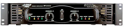 Pyle PT6800 3000 Watts X 2 Bridgeable Power Amplifier