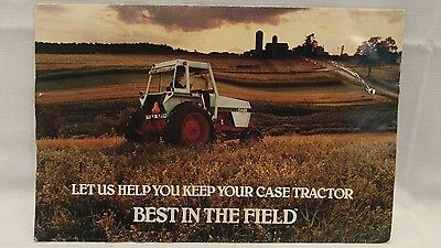 1983 Case Tractor Advertising Brochure