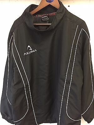 Rugby Drill Top Black XL Mens
