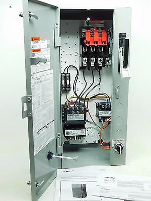 NEW! SIEMENS 17CSB92BF10 STARTER MAGNETIC COMBINATION THREE PHASE w/ FUSES PO
