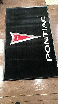 Pontiac Dealer rug. Brand new, may be the only new one in existence!!!!