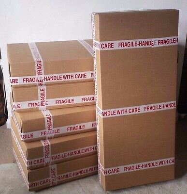 New Base & Lid Cardboard Box for ELECTRIC guitar shipping / packaging / posting