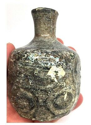 Ancient Roman Glass Jar 100AD