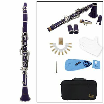 Clarinetto in SiB Ebanite 17 Chiavi Nichelate Studio USA Design TOP OFFERTA