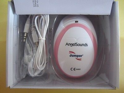 Baby Fetal Doppler Angel Sound Heart Monitor Portable Angelsounds Detector