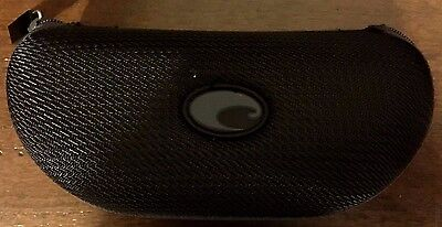 Costa Del Mar -- BLACK/Gray SUNGLASS CASE Zippered  fro Costa   NEW