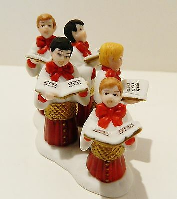 """Dept.56  Heritage Village Collection Accessory """"choirboys All In A Row"""" , #58892"""