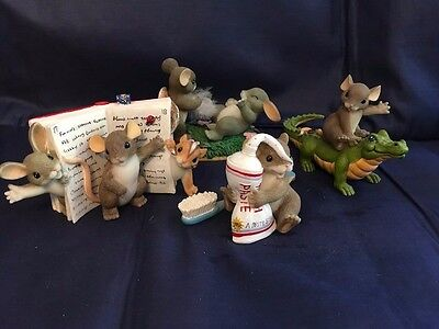 Charming Tails Fitz and Floyd 4 Adorable Miscellaneous pieces