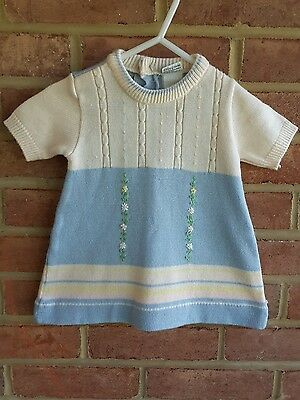 Vintage Baby Sweater / Sweater Dress Montgomery Ward size 6 months ?