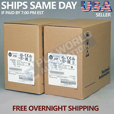 2019 New Factory Sealed Allen Bradley 25B-D010N104 Series A Free Next Day Air