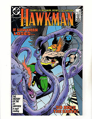 Hawkman #9 (1987, DC) NM- Vol 2 vs Shadow Thief! Tony Isabella