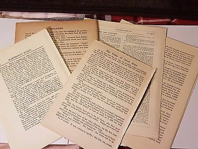 100 Mixed Vintage Book pages, Ephemera, Mixed Media, Paper, Cardmaking, Crafts