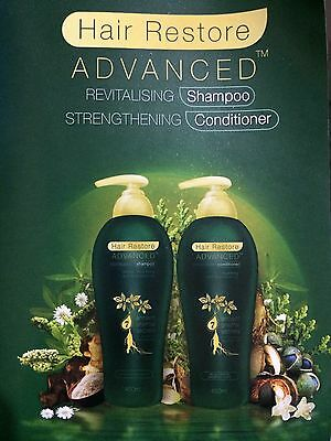 Mariedent Hair Restore Advanced Hair Loss REVITALISING SHAMPOO & CONDITIONER