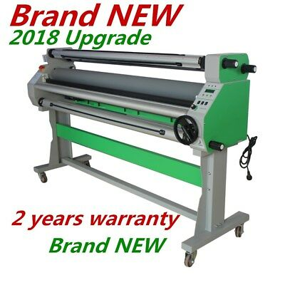 """USA 110V 60"""" Economical Full-auto Wide Cold Laminator with Heat Assisted + STAND"""