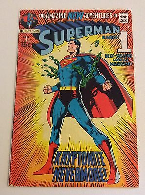 Superman #233 (Jan 1971, DC) Classic Neal Adams Cover! FREE PRIORITY SHIPPING