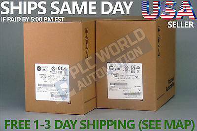 2017 New Factory Sealed Allen Bradley 25B-D017N104 Ser A Ac Drive Latest Mf Date