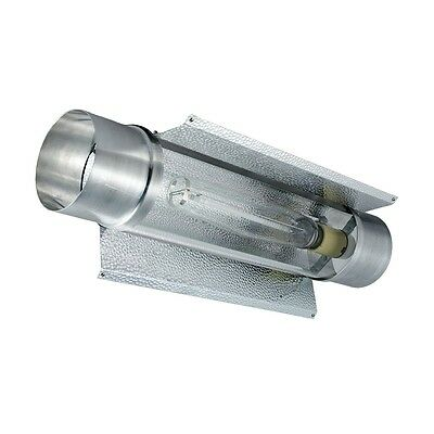 """New 6"""" Air Cooled Tube Reflector (Cool Tube) with MH/HPS Socket - Indoor Garden"""