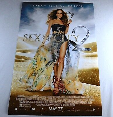 Sex In The City 2 Official Movie Theater Poster Original 27x40 Sarah Parker 2010
