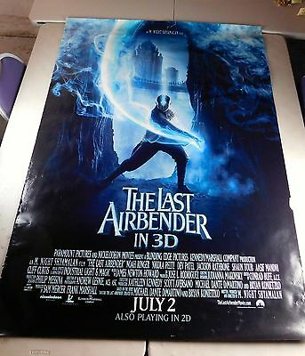The Last Airbender Official Movie Theater Poster Original 48x70 Noah Ringer 2010