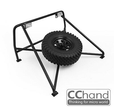 1/10 Chevrolet Blazer Tire-mounted roll cage [Black]
