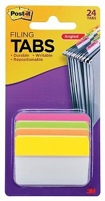 New 6 Tabs 24 Tabs/Pack 4 Colors Post it Tabs 2 Inch Office Supply Free Shipping