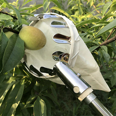 Picking Tools for Orchard Garden Farm Apple Peach High Tree Fruit Picker