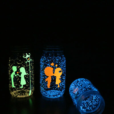 Hot luminous Particles Glow Pigment Bright Glow Sand  in the Dark Sand Decor