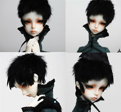 1/4 bjd doll ball jointed dolls Black Swan boy free eyes with face make up