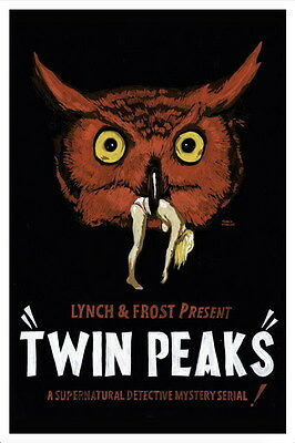 "036 Twin Peaks - Kyle MacLachlan Love Thriller USA TV Show 14""x21"" Poster"