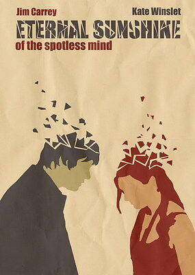 "011 Eternal Sunshine of the Spotless Mind - Jim Carrey USA Movie 14""x19"" Poster"