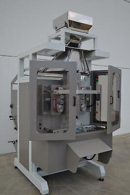 Automatic bagging form fill seal, wood pellets VFFS hammer mill