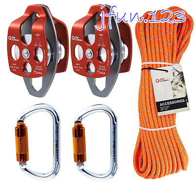 5:1 Rigging System 11.5mm Rope for Industrial Lowering Arborist Loads Lifting