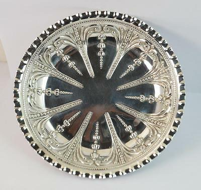1891 Victorian Sterling Silver Three Claw Footed Bon Bon Dish or Bowl
