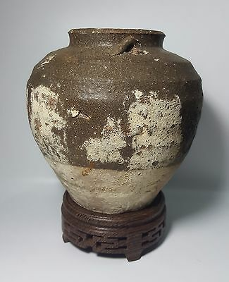 Tang Dynasty Jar with 2 Lugs (River Found)