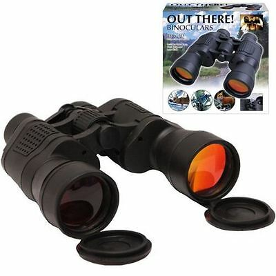 10 X 50 Large Binoculars Travel Outdoor Bird Watching Camping Nature Wide Field