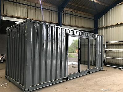 Mobile Home Converted Storage Container House Summer Guest or Log Cabin Bespoke