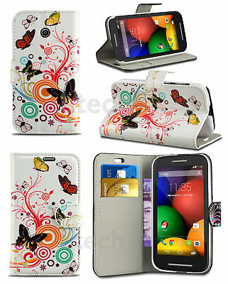 Butterfly Breeze  Design Printed Pattern Wallet Book Phone Case (LG Models)