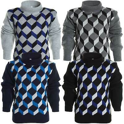 Jungen Winter Strick Pullover Langarmshirt Hoodie Hoody Kinder Sweat Shirt Jacke
