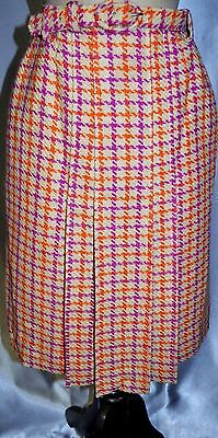 Vintage 60's GOR-RAY Pure Wool Skirt