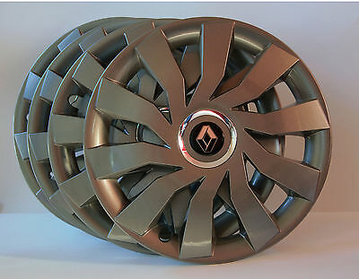 "4 x 16"" Renault Master,Espace,Trafic...Wheel Trims / Covers, Hub Caps,Quantity 4"