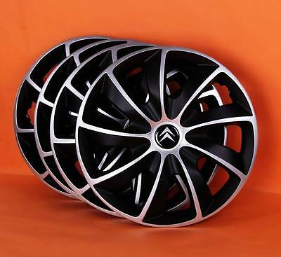 "16"" Citroen C4,C5,etc..Wheel Trims / Covers, Hub Caps,Quantity 4"