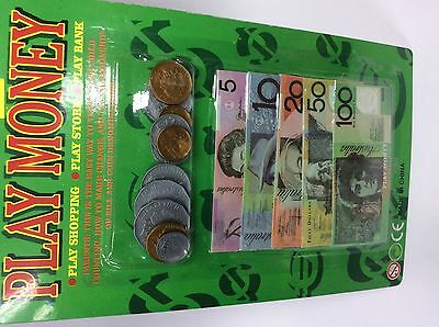 Play money Australian coins and nors