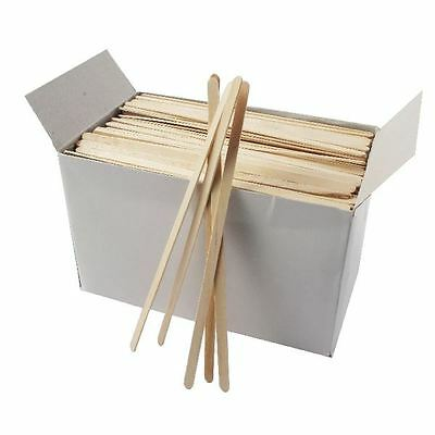 Wooden Coffee Stirrers (Pack of 1000) EIWS, Length: 7 inches [RY00011]