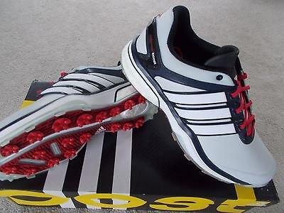 Mens Adidas Golf Shoes Trainer Style Adipower Boost Waterproof Uk10 Eu44 2/3