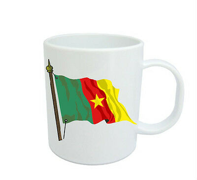 Cameroonian  Flag  Coffee Mug Free Personalisation  Cameroon