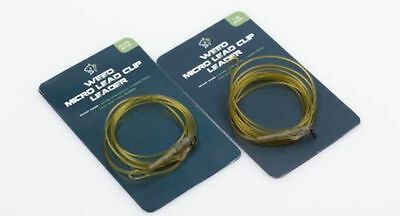 Nash NEW D-CAM Weed Leader Micro Ring Swivel Carp Lead Clip & Tail Rubber
